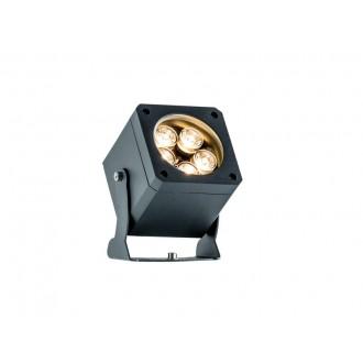 VIOKEF 4205400 | Aris-VI Viokef fényvető, leszúrható lámpa elforgatható alkatrészek 2x LED 1100lm 3000K IP66 sötétszürke
