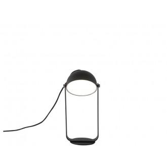 VIOKEF 4205701 | Hemi Viokef asztali lámpa 24cm 1x LED 540lm 3000K fekete