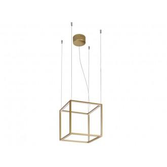 VIOKEF 4207000 | Gold-Cube Viokef függeszték lámpa 1x LED 2080lm 3000K arany