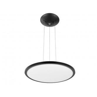 VIOKEF 4213800 | Aida-VI Viokef függeszték lámpa 1x LED 2200lm 3000K fekete, fehér