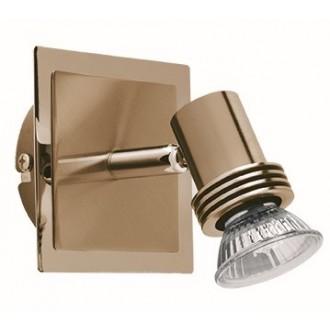 VIOKEF 461901 | Cha-Cha Viokef spot lámpa elforgatható alkatrészek 1x GU10 antik, arany