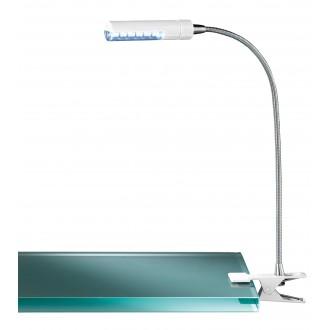 WOFI 290312060000 | FlexW Wofi csiptetős lámpa kapcsoló flexibilis 1x LED 200lm 3000K fehér, króm