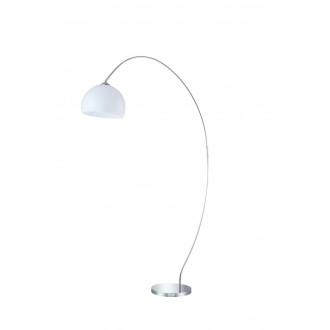 WOFI 308401010000 | Sander Wofi álló lámpa 170cm kapcsoló 1x E27 króm, fehér