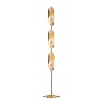 WOFI 3325.03.15.8000 | Safira-WO Wofi álló lámpa 142cm kapcsoló 3x LED 600lm 3000K arany