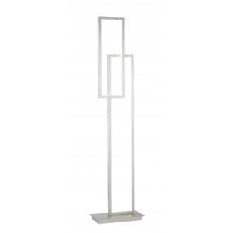 WOFI 3531.02.64.8000 | Viso Wofi álló lámpa 153cm három fokozatú kapcsoló szabályozható fényerő 1x LED 3800lm 3000K matt nikkel