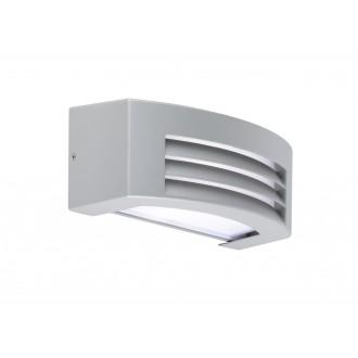 WOFI 4062.01.50.7000 | LimaW Wofi fali lámpa 1x E27 IP44 szürke