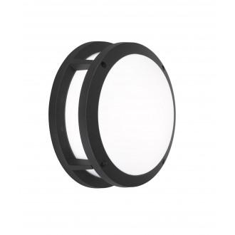 WOFI 4063.02.10.7000 | LaraW Wofi fali lámpa 2x E27 IP44 fekete, fehér