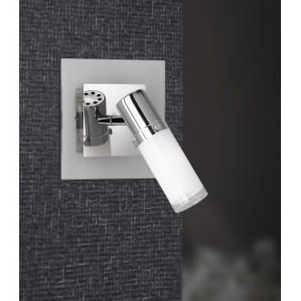 WOFI 4076.01.01.0000 | Marco Wofi fali lámpa kapcsoló 1x E14 króm, fényes fehér