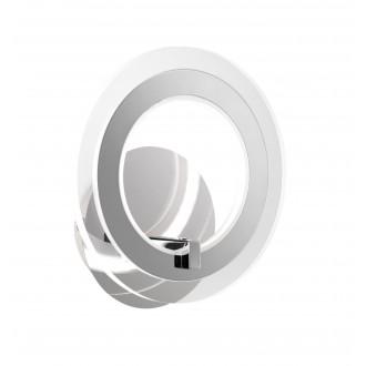 WOFI 4146.01.01.0000 | Noemi Wofi falikar lámpa kapcsoló 1x LED 800lm 3000K króm, átlátszó