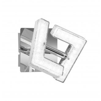 WOFI 4290.01.01.6000 | LeaW Wofi spot lámpa elforgatható alkatrészek 1x LED 325lm 3000K króm, kristály hatás
