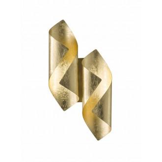 WOFI 4325.02.15.8000 | Safira-WO Wofi fali lámpa 2x LED 400lm 3000K arany