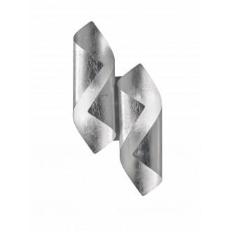 WOFI 4325.02.70.8000 | Safira-WO Wofi fali lámpa 2x LED 400lm 3000K ezüst