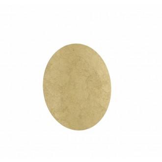 WOFI 4330.01.15.8400 | Angers Wofi fali lámpa 1x LED 1600lm 3000K arany