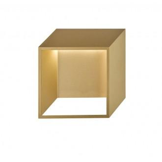 WOFI 4416.01.15.8000 | Quebec Wofi fali lámpa 1x LED 400lm 3000K arany