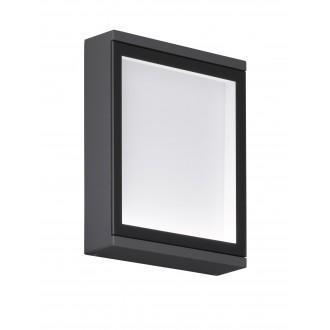 WOFI 4706.01.88.0000 | HallW Wofi fali lámpa 1x LED 320lm 3000K IP54 antracit, fehér