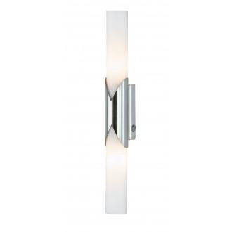 WOFI 4931.02.64.0000 | Eddy Wofi fali lámpa kapcsoló energiatakarékos izzóhoz tervezve 2x E14 matt nikkel