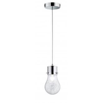 WOFI 600301010150 | FuturaW Wofi függeszték lámpa 1x E14 króm, átlátszó