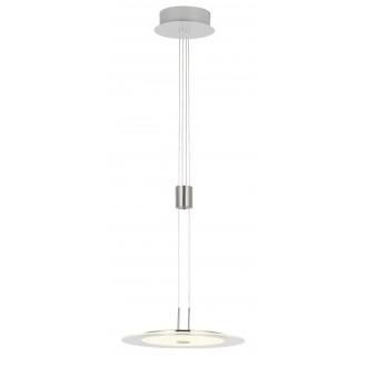 WOFI 6120.01.54.0000 | RomaW Wofi függeszték lámpa ellensúlyos, állítható magasság, szabályozható fényerő 1x LED 1800lm 3000K matt nikkel, króm, fehér