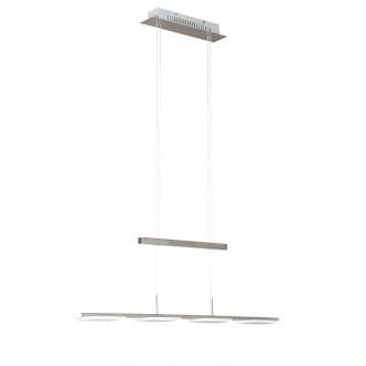 WOFI 734504640500   Verso Wofi függeszték lámpa ellensúlyos, állítható magasság 4x LED 1200lm 3000K matt nikkel