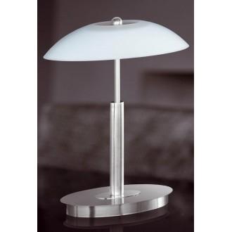 WOFI 8041.02.64.0010 | MaximeW Wofi asztali lámpa 33cm fényerőszabályzós érintőkapcsoló szabályozható fényerő 2x G9 920lm 2700K matt nikkel