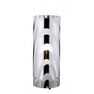 WOFI 832801640000 | Collage Wofi asztali lámpa 24cm vezeték kapcsoló 1x E14 króm