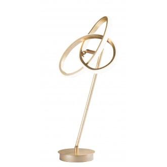 WOFI 8410.01.15.8000 | Eliot-WO Wofi asztali lámpa 50cm kapcsoló elforgatható alkatrészek 1x LED 1100lm 3000K arany