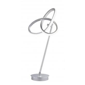 WOFI 8410.01.70.8000 | Eliot-WO Wofi asztali lámpa 50cm kapcsoló elforgatható alkatrészek 1x LED 1100lm 3000K ezüst