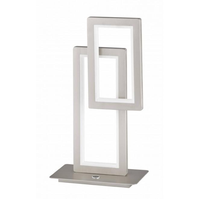 WOFI 8531.02.64.8000 | Viso Wofi asztali lámpa 46cm három fokozatú kapcsoló szabályozható fényerő 1x LED 1900lm 3000K matt nikkel