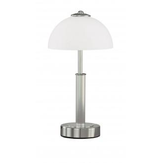 WOFI 8865.02.64.0000 | PopW Wofi asztali lámpa 38cm fényerőszabályzós érintőkapcsoló szabályozható fényerő 2x E14 matt nikkel