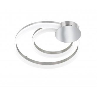 WOFI 9117.01.54.0000 | Indigo-Soul Wofi mennyezeti lámpa szabályozható fényerő 1x LED 4200lm 3000K matt nikkel, fehér