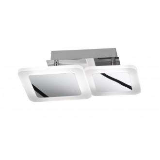 WOFI 9157.02.01.6000 | Impuls Wofi mennyezeti lámpa elforgatható alkatrészek 1x LED 1200lm 3000K króm, fehér
