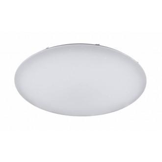 WOFI 9198.01.06.7000 | Lord-WO Wofi mennyezeti lámpa távirányító szabályozható fényerő, állítható színhőmérséklet 1x LED 9300lm 3000 <-> 6800K fehér, kristály hatás