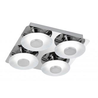 WOFI 9216.04.01.0000 | SpaceW Wofi mennyezeti lámpa szabályozható fényerő 4x LED 2200lm 3000K króm, fehér
