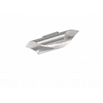 WOFI 9325.01.70.8000 | Safira-WO Wofi fali, mennyezeti lámpa 1x LED 1750lm 3000K ezüst