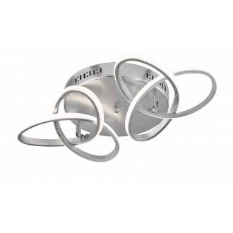 WOFI 9410.02.70.8000 | Eliot-WO Wofi mennyezeti lámpa elforgatható alkatrészek 2x LED 2200lm 3000K ezüst