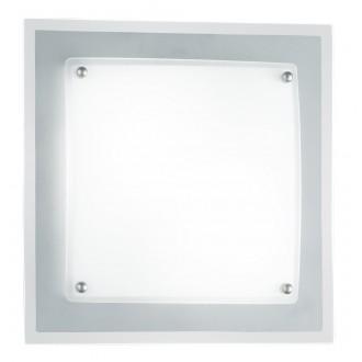 WOFI 9419.02.64.0280 | Kanpur Wofi fali, mennyezeti lámpa energiatakarékos izzóhoz tervezve 2x E14 matt nikkel