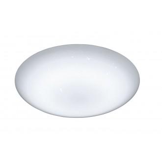 WOFI 9545.01.06.0044 | Ceres Wofi mennyezeti lámpa távirányító szabályozható fényerő, állítható színhőmérséklet 1x LED 3000lm 2800 <-> 5700K IP23 fehér