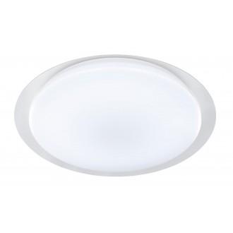 WOFI 9662.01.06.0680 | JadenW Wofi mennyezeti lámpa távirányító szabályozható fényerő, állítható színhőmérséklet 1x LED 4000lm 2800 <-> 6000K fehér, átlátszó