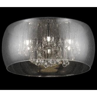 ZUMA LINE C0076-05L-F4K9 | RainZL Zuma Line mennyezeti lámpa kerek 5x G9 füst, átlátszó