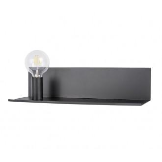 ZUMA LINE CS-W088L-BK | ShelfZL Zuma Line fali lámpa 1x E27 fekete