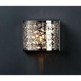 ZUMA LINE W0066-01A | BellaZL Zuma Line fali lámpa 1x G9 króm, kristály