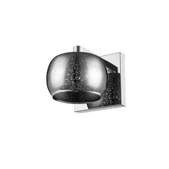 ZUMA LINE W0076-01B-B5GR | Vista Zuma Line falikar lámpa kerek 1x G9 króm, ezüst, csillogó